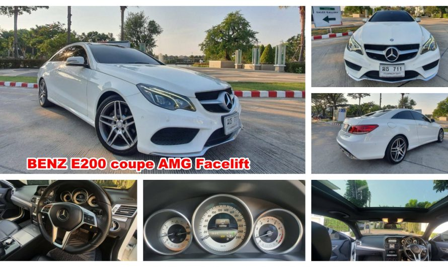 2015 BENZ E200 coupe AMG  Facelift