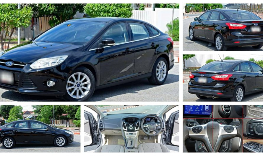 2013 Ford FOCUS 2.0 TOP SUNROOF ปี 2013 เพียง 299,000.-
